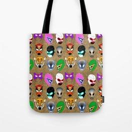 Lucha World Tote Bag