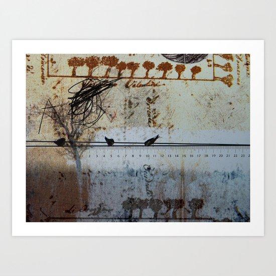 DRESSED LANDSCAPE VI Art Print
