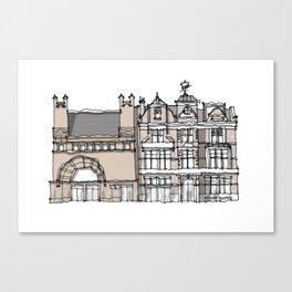 Whitechapel Gallery London Canvas Print