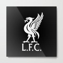 LFC White Logo Metal Print