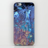 kurt cobain iPhone & iPod Skins featuring Waterfall  by Lena Weiss