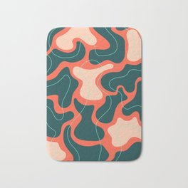 Tectonic Plates Jostled Gently for a Prime Position Bath Mat