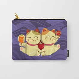 """FortuNEKO - """"Toffee & Candy"""" Carry-All Pouch"""