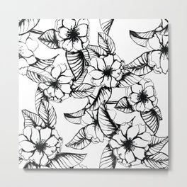 Almond Flower Metal Print
