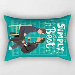 Simply the best Rectangular Pillow