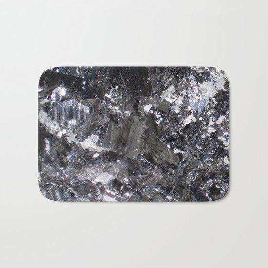 SHINY ENARGITE CRYSTAL MACRO Bath Mat