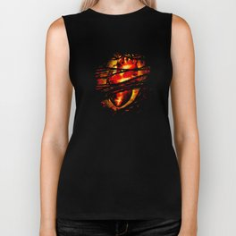 Heart of Fire Biker Tank