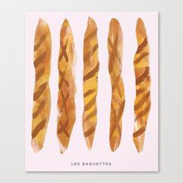 Les Baguettes Canvas Print