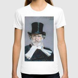 Giuseppe Verdi (1813 – 1901) by Giovanni Boldini (1842 - 1931)(2) T-shirt
