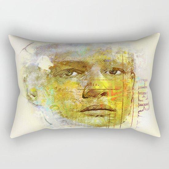 It was once Marlon B. Rectangular Pillow
