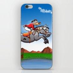 Olympic Equestrian Jumping Dog iPhone & iPod Skin