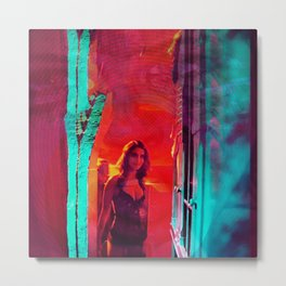 Colorblind Doorways Metal Print