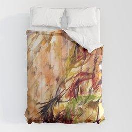 Autumnal Dialog Comforters