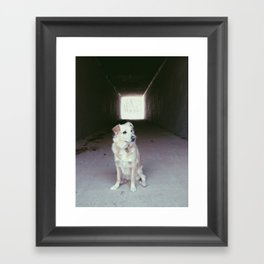 positivist.  Framed Art Print