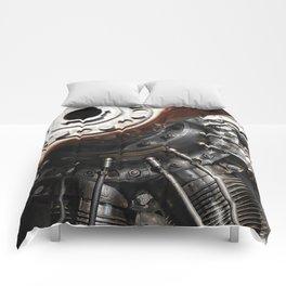 Airplane motor Comforters