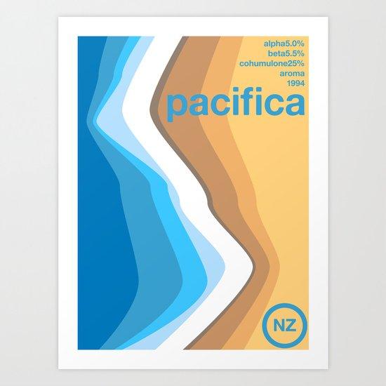 pacifica single hop Art Print