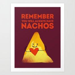 Nachos Love Art Print