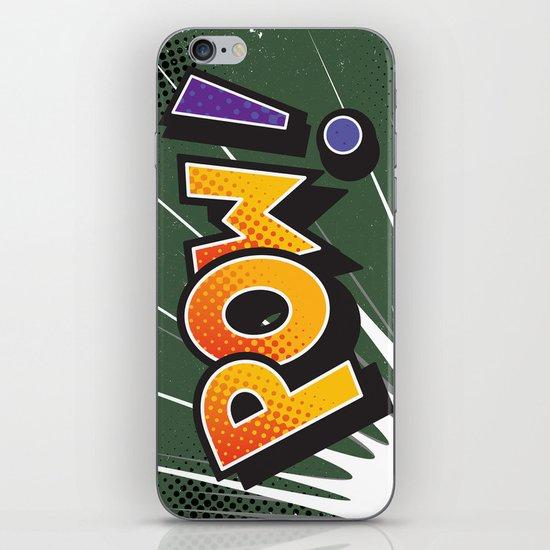 POW iPhone & iPod Skin