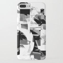 Circle Glitch iPhone Case