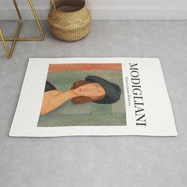 Modigliani - Portrait of Jeanne Hebuterne Rug
