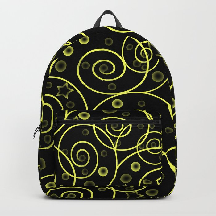 Abstract pattern. Backpack