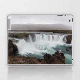 Godafoss waterfall in Iceland - nature landscape Laptop & iPad Skin