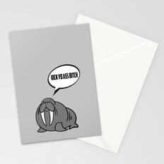 Angry Walrus Stationery Cards