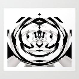 Unwind Spiral 2 Art Print