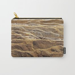 Chocolate Ripple Rock Carry-All Pouch