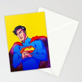 Man from the Stars Stationery Cards