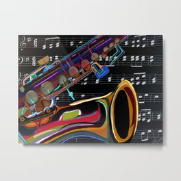 Lift Every Voice and Sing Metal Print