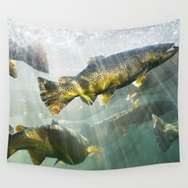 Trout Wall Tapestry