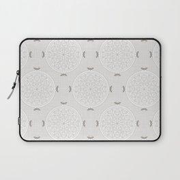 Snow Rosette Lace Laptop Sleeve