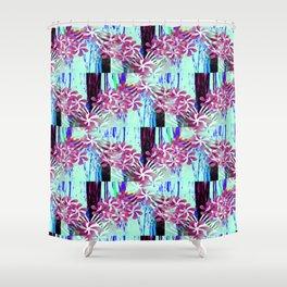Flower Garlands Shower Curtain