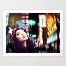Izakaya Art Print