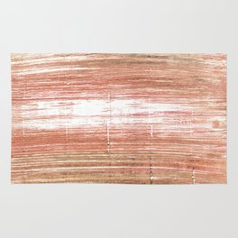 Tumbleweed abstract watercolor Rug