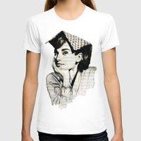 audrey T-shirts featuring Audrey by Krzyzanowski Art