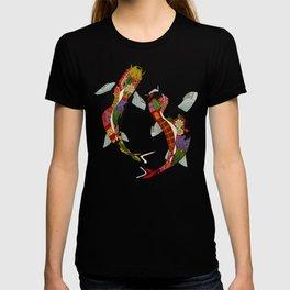 koi teal T-shirt