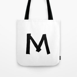 M Monogram (Hand 2) Tote Bag