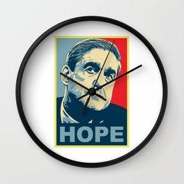 ROBERT MUELLER HOPE Wall Clock