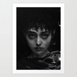 The Branded Girl Art Print