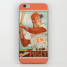 Buster Posey Giants iPhone Skin