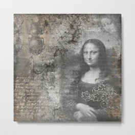 Secrets of the Mona Lisa Metal Print