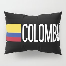 Colombia: Colombian Flag & Colombia Pillow Sham