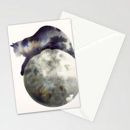 Lunar Hunter Stationery Cards