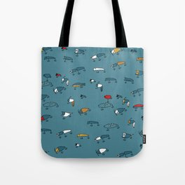 Blue Lures Tote Bag