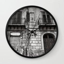 ABANDONED SICILIAN SOUND Wall Clock