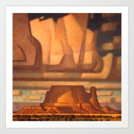 Mantrap Mesa Art Print