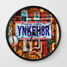 Yankee Hater Wall Clock