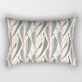Bush Eucalyptus Pattern Rectangular Pillow